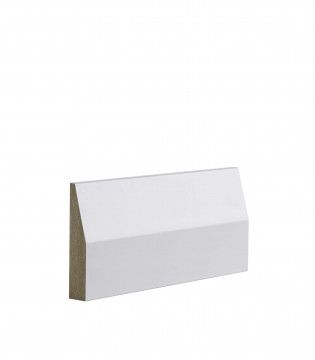 Image of White Primed Half Splayed Architrave