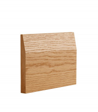 Oak Half Splayed Skirting image