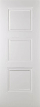 Image of   AMSTERDAM FIRE DOOR WHITE PRIMED