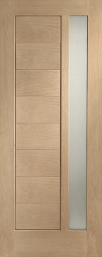 Image of Modena Glazed Engineered Oak Door