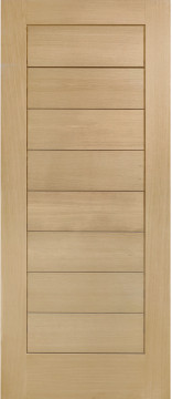 Image of Modena Grooved Engineered Oak Door