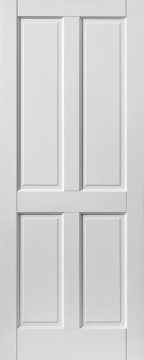 Image of Colonial 4 Panel Extreme Prefinished White Door