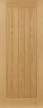 Image of Ely Crown Cut Oak FD30 Door