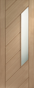 Image of Monza Glazed Oak FD30 Door