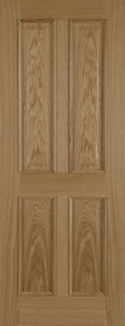 Image of 4 Panel RM Oak FD30 Door