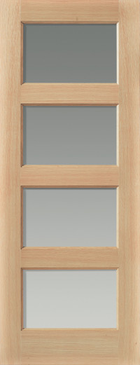 Humber Glazed Oak Interior Door image