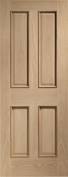 Image of Victorian RM Oak Door
