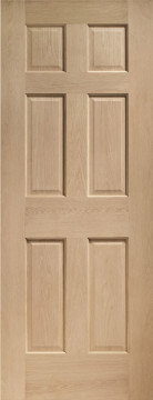Image of Colonial 6 panel Oak FD30 Door