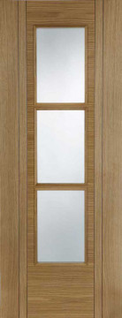 Image of Capri Glazed Oak FD30 Door