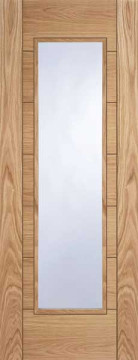 Image of Corsica Glazed Oak FD30 Door