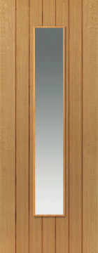 Image of Cherwell Glazed Oak Door