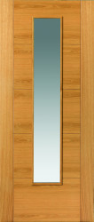 Emral Glazed Oak FD30 Door