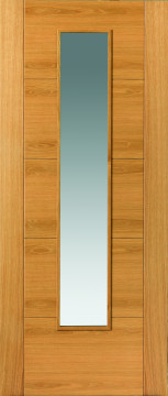 Image of Emral Glazed Oak FD30 Door