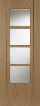 Image of Vision Glazed Oak Interior Door