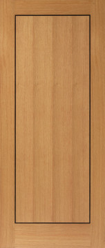 Image of Clementine Oak Flush FD30 Door