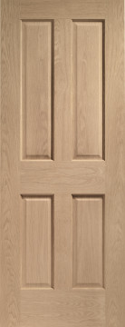 Image of Victorian Oak Interior Door