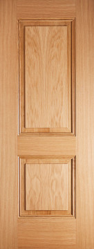 Image of Arnhem 2 Panel Oak FD30 Door