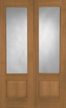 Image of Chiswick Glazed Oak Interior Door Pair
