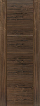 Image of Mistral Grooved Walnut FD30 Door
