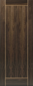 Image of Vina walnut Flush FD30 Door