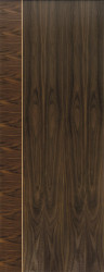 Mayette Walnut Flush Door